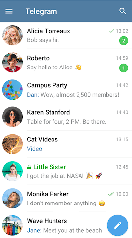 Android Random Chat App Telegram