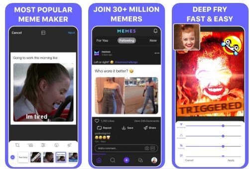Free Meme Generator Apps for Android & iPhone
