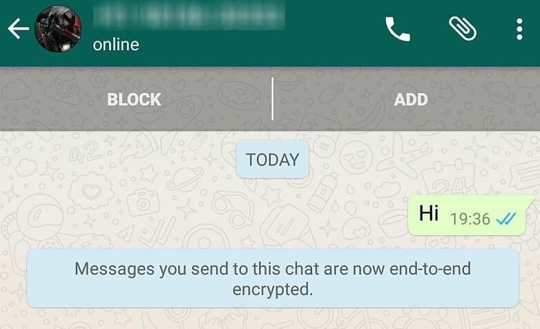 WhatsApp sexting-priivacy mode