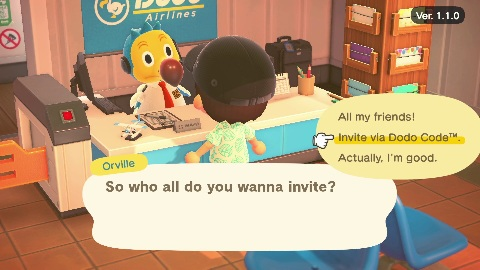 Animal Crossing - Invite Friends
