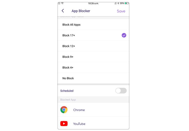 FamiSafe - App block