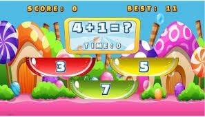 cool math game - Candy Math