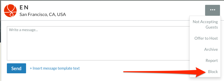 Click the 'More' button