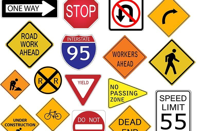 driving tips for young teens - pay attention to road signs