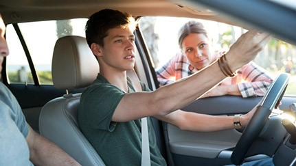 how to teach a teen to drive - learn the basic skills