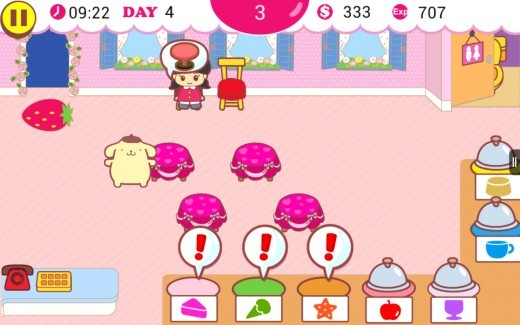 Best Game App for Kindle Fire - Hello Kitty Cafe