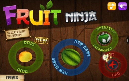 Game for Fire Tablet - Fruit Ninja