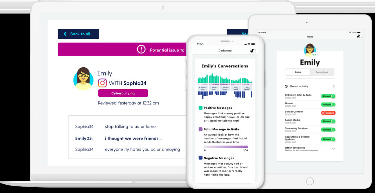 Parental Control App for Kindle Fire HD 10 - Bark