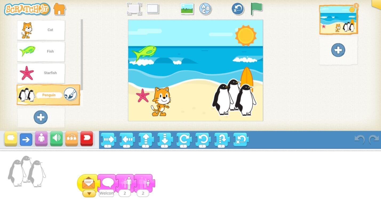 best app for kid on kindle fire - Scratch JR