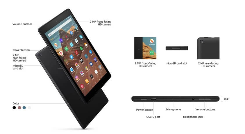 full review of kindle fire HD 10 - Performance