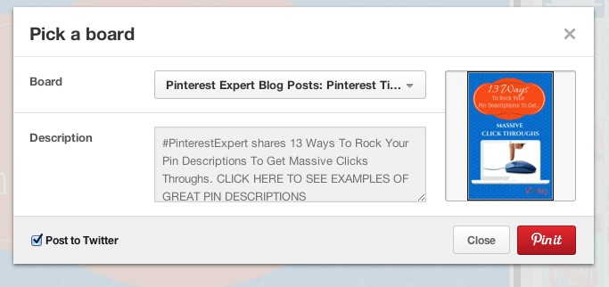 pinterest review - share on Facebook Twitter