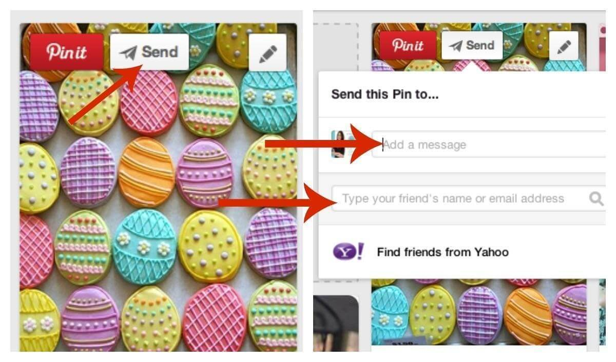 pinterest review - share via email