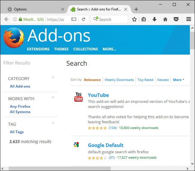 Search-add-ons