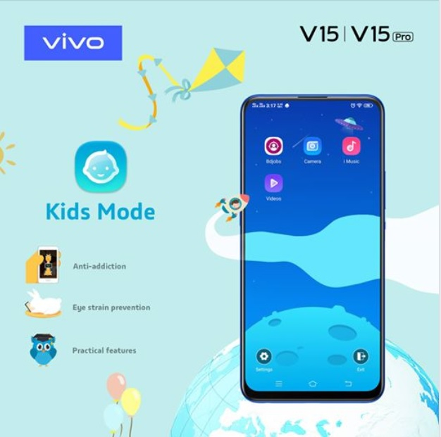 Vivo-kid-mode