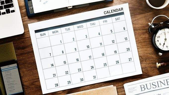 Create family calendars