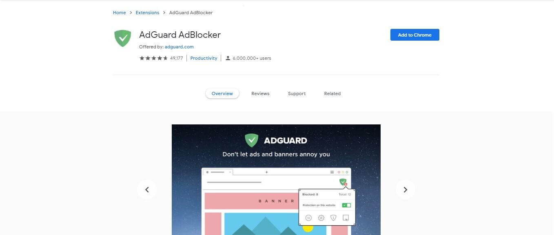 ad blocker extension for mac - adguard