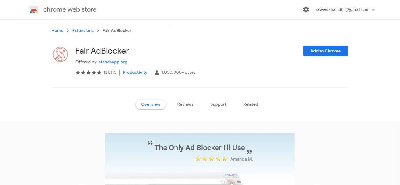 fair adblocker - adblock for mac