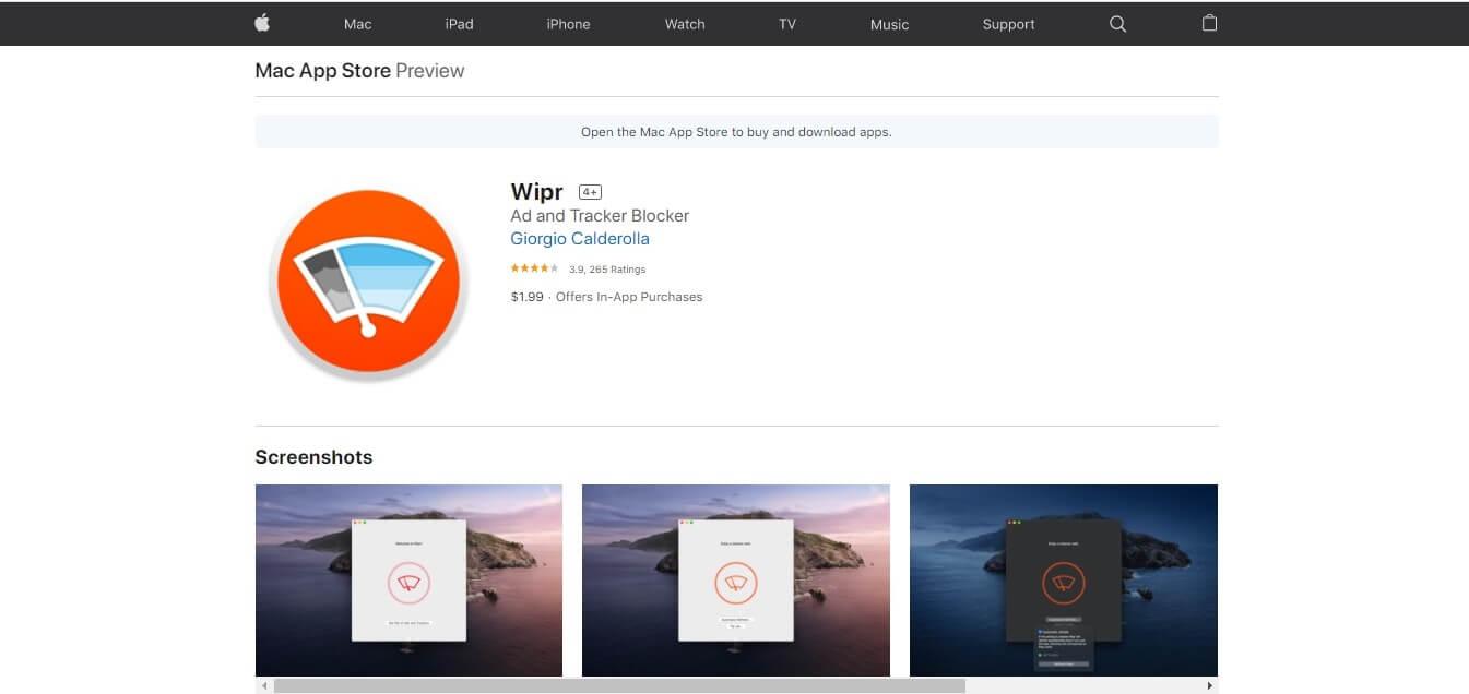 wipr adblock for mac