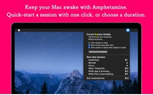 best free app for mac - Amphetamine