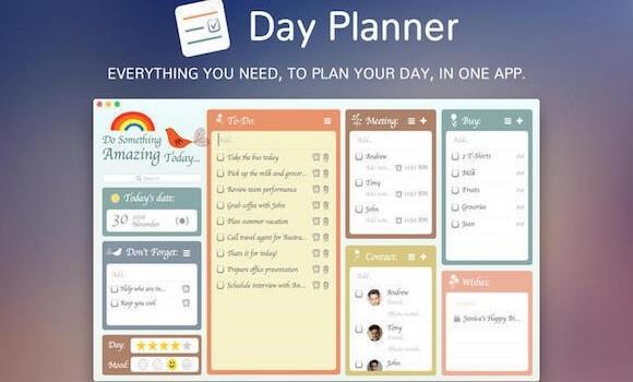 scheduler planner apps