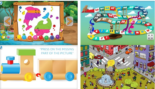Family Educational Brain Gym Top 8 Games for Kids Online