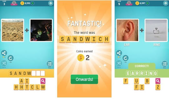 Pictoword Top 8 Games for Kids Online