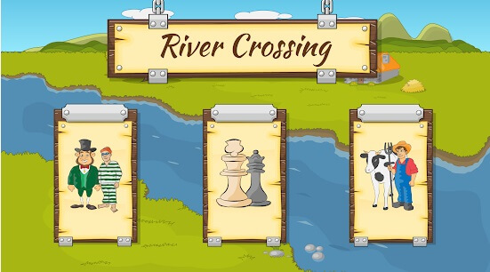 River Crossing IQ Logic Puzzles and Brain Games Top 8 Games for Kids Online