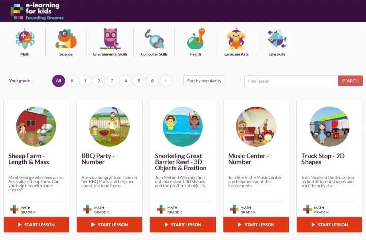 e-learning-for-kids