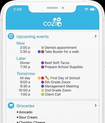 Cozi-app