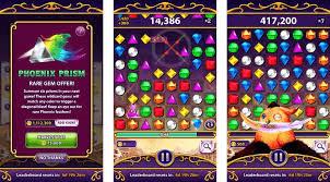 iOS group game app Bejeweled