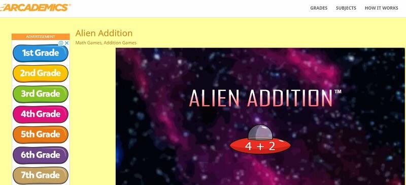 Arcademics-website