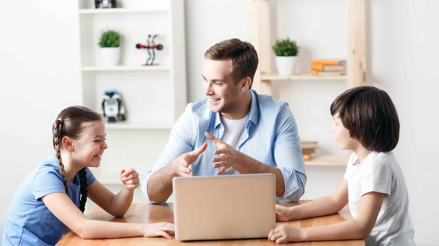kids' online behavior