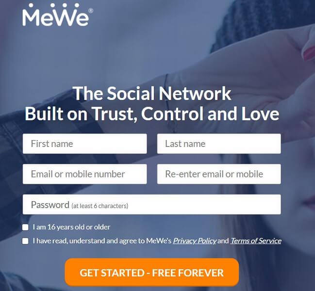 MeWe-app