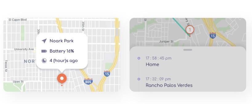 FamiSafe - location tracking