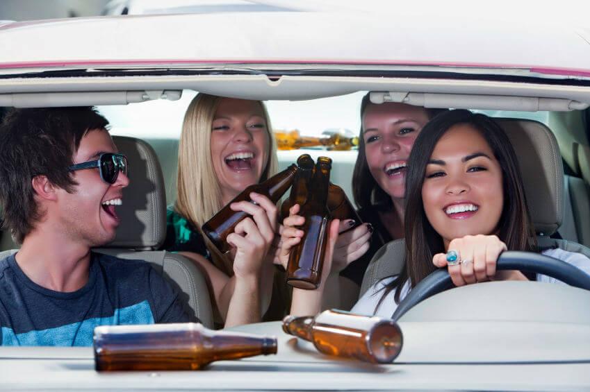 reason why teens drink and drive - peer pressure