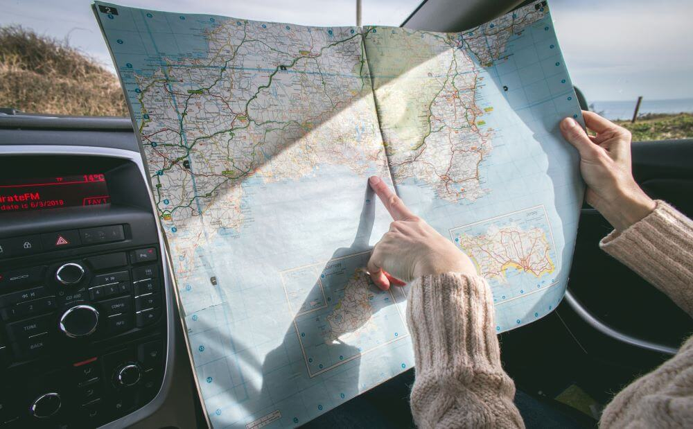 tips for driving across country - prepare ahead