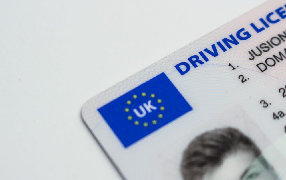 tips for driving across country - bring your documents