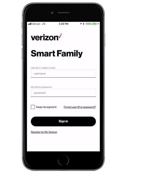 Verizon smart family