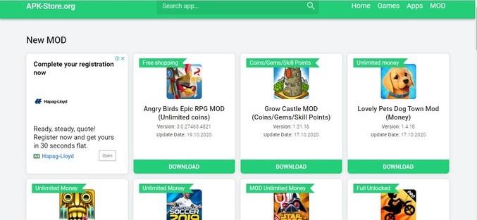 apk download sites - APK Store