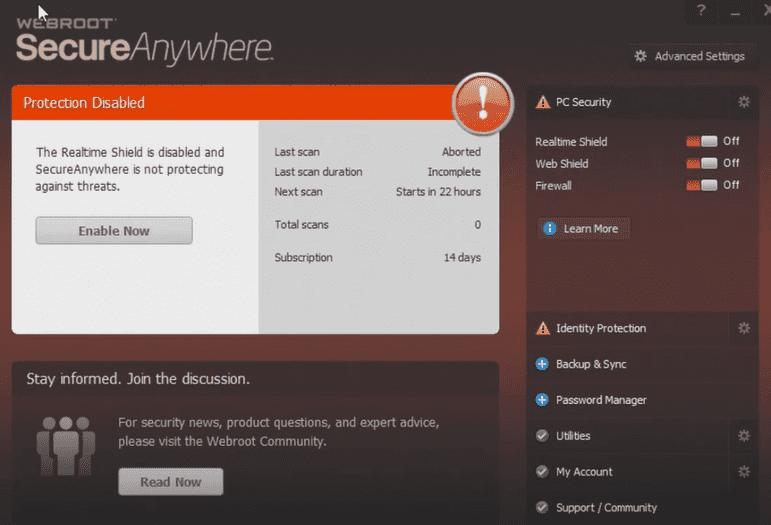best mac antivirus webroot secureanywhere
