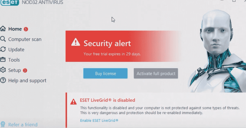 best mac antivirus - eset