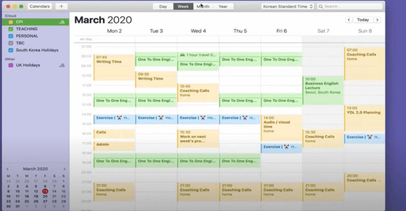 why use google calendar on mac
