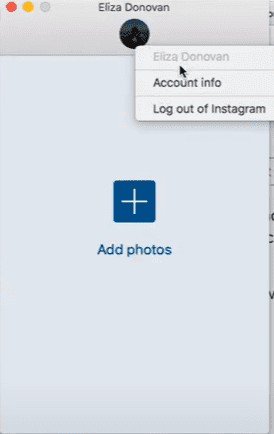 use uplet to post ins on mac