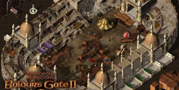 old windows game - Baldurs Gate