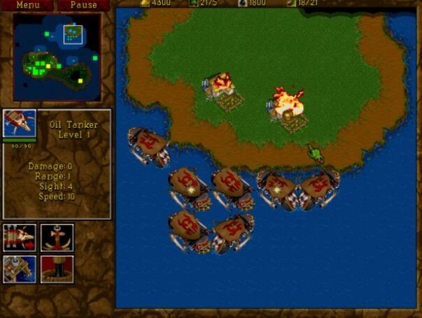 old windows game - Warcraft