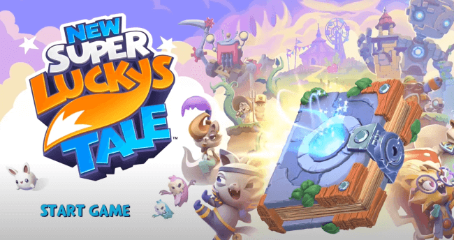 nintendo switch game for toddler - New Super Lucky's Tale