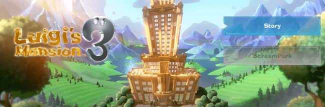 nintendo switch game for toddler - Luigi's Mansion 3