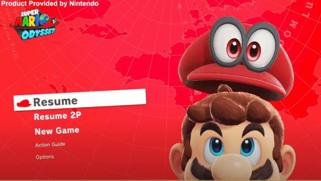nintendo switch game for toddler - Super Mario Odyssey