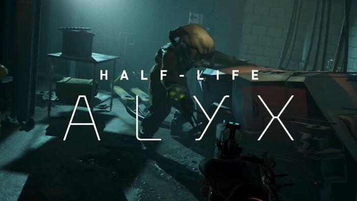 windows game - half life ALYX