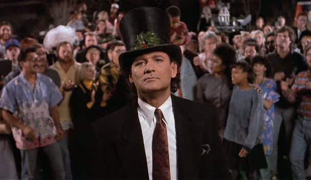classic christmas movie - Scrooged